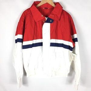 Vintage NWT retro color block windbreaker jacket